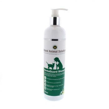 Dog Cat Shampoo Herbaguard Sulphate Free 375ml Natural Animal Solutions