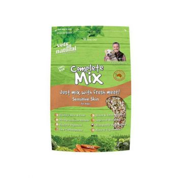 Vet's All Natural Complete Mix Dog Food; Dry Dog Food; Adult Dog Food; Sensitive Skin Dog Food