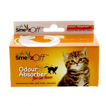 Smellz Off Odour Absorber For Cat Litter Fragrance Free Non Toxic Purifie