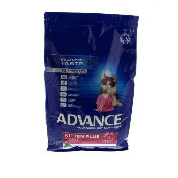 Cat Food Advance Kitten Growth 3kg Premium Dry Food Nutrition Health