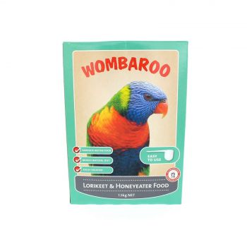 Wombaroo Lorikeet and Honeyeater Food Bird Aviary 1.5kg