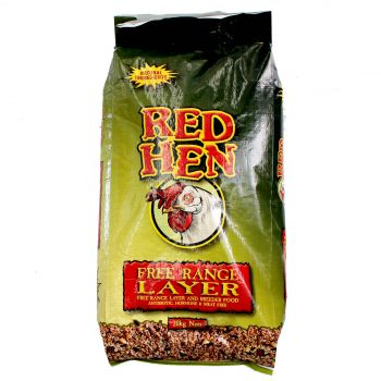 Red Hen Free Range Layer 20kg Poultry Food Whole Grains Nutrition Laying