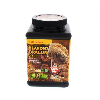 Hagen Bearded Dragon Food Soft Pellets Adult Reptile Exo Terra 250g