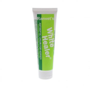 White Healer Antiseptic Cream Horse Equine 100g Bacteria Fungal Germ Strong