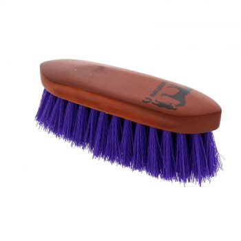 Dandy Brush Small Purple 180mm x 60mm Gymkhana Horse Equine Grooming