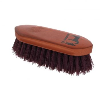 Dandy Brush Small Burgundy 180mm x 60mm Gymkhana Horse Equine Grooming