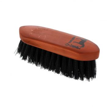 Dandy Brush Small Black 180mm x 60mm Gymkhana Horse Equine Grooming