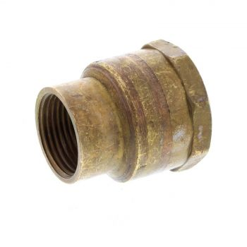 Socket Hex Reducing Brass Fitting 1 x 3/4 Inch Plumbing Water Irrigation