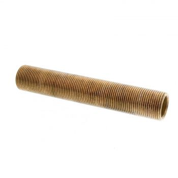 Thread All Brass Fitting 3/4 x 6 Inch Plumbing Water Irrigation