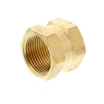 Socket Hex Brass Fitting 3/4 Inch Plumbing Water Irrigation