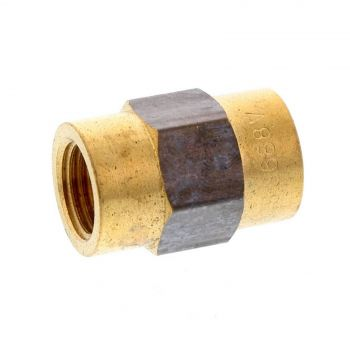Socket Hex Brass Fitting 1/4 Inch Plumbing Water Irrigation