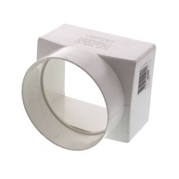 Stormwater Downpipe Adapter 100 x 90mm Repair Fitting PVC Irrigation Pipe DWV