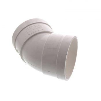 Stormwater Elbow 75mm x 45 Degree Female/Female Repair Fitting PVC Irrigation