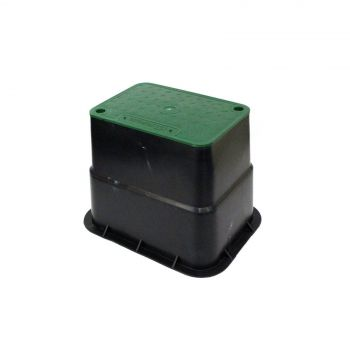 Valve Box 225 x 150 x 215mm Rectangular Watering Irrigation Heavy Duty Weather