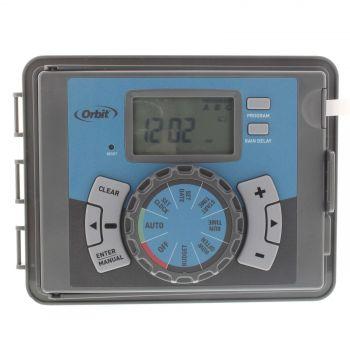 Orbit Controller 6 Station Easy Set Indoor or Outdoor Programmable Logic Timer