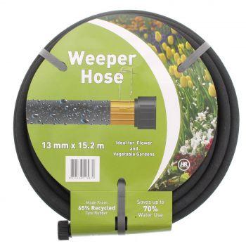 Garden Soaker Hose 13mm x 15.2m Ideal For Flower and Vegie Gardens Orbit