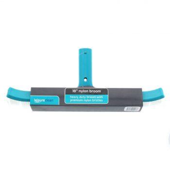 Leisure Clean 18 Inch Nylon Heavy Duty Broom Newline Pool Spa