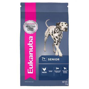 Eukanuba Senior Adult Medium Breed 3Kg Pet Premium Food For Older Dogs