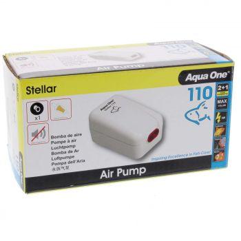 Stellar 110 Air Pump 110 L/hr 3W Fish Tank Aquarium Aqua One 94133