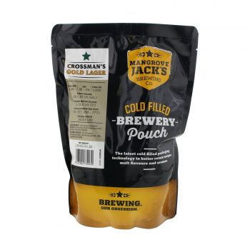 Mangrove Jack Traditional Lager Pouch 1.8kg Clean Aroma Vanilla Hints Home Brew