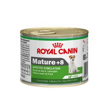 Royal Canin Mature Can 195g Dog Food Wet For Dogs 8+ Years Premium Quality