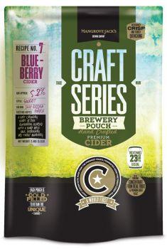 Blueberry Cider Brewery Pouch 2.4kg Mangrove Jacks Home Brew