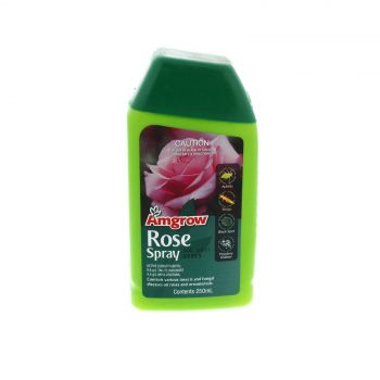 Rose Spray Controls Various Insects and Fungal Diseases Amgrow 250ml