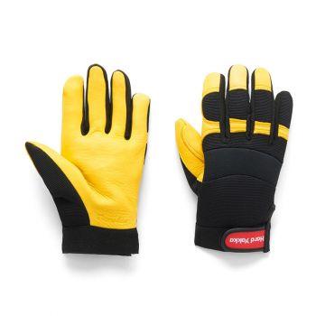 Golden Hawk Gloves Large Ryset Premium Deer Grain Riggers Gloves Soft Supple