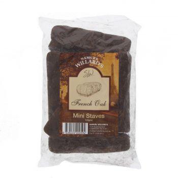 French Oak Mini Staves Chips 100g Samuel Willards Home Brew