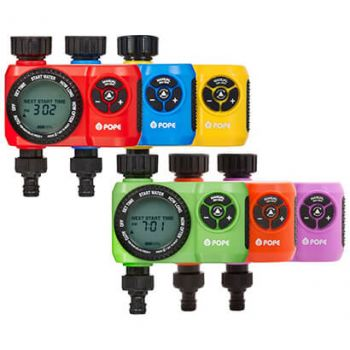 Snap Shot Tap Timer Assorted Colours Pope
