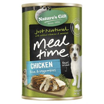 Natures Gift Chicken/Rice/Vegetable 700G