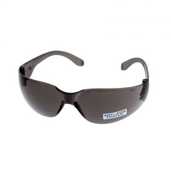 Maxisafe Texas Smoke Safety Glasses Anti-Fog Ultra Light Weight UV Protection