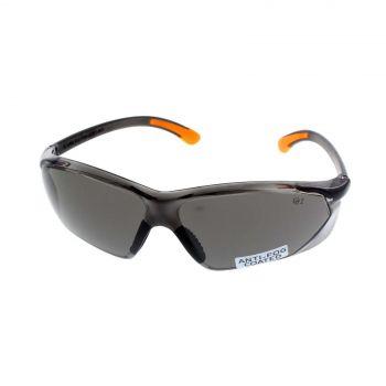 Kansas Smoke Safety Glasses Anti-Fog Lightweight Frameless Design UV Protection