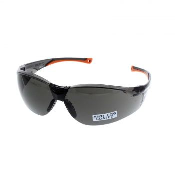 Santa Fe Smoke Safety Glasses Anti-Fog UV Protection Lightweight Durable