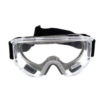 Maxisafe MaxiGoggles Foam Bound Safety Goggles Anti-Fog Anti-Scratch Clear Lens