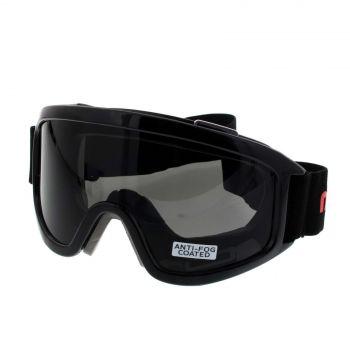 Maxisafe MaxiGoggles Foam Bound Safety Goggles Anti-Fog Anti-Scratch Smoke Lens