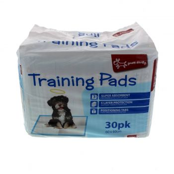 Training Pads 30 Pack Masterpet Dog Puppy Toilet Train Super Absorpent Clean