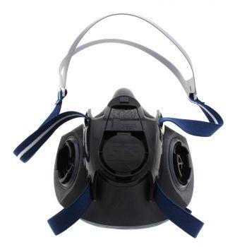 Maxisafe Half Face Respirator Large Shigematsu Made In Japan Ultra Light TPE
