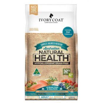 Ivory Coat Dog Food Ocean Fish & Salmon 13Kg Premium Quality Natural Health