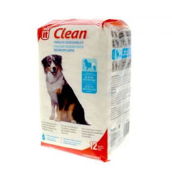 Dog Disposable Diapers Large 12 Pack Dogit Nappy Clean Hygenic Pet Secure