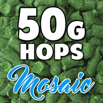 MOSAIC Hop Pellets 50g Hops USA Home Brew Beer Sealed For Freshness Aroma Taste