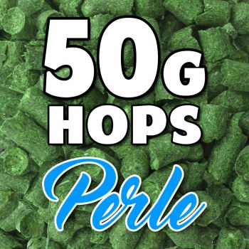 PERLE Hop Pellets 50g Hops GER Home Brew Beer Sealed For Freshness Aroma Taste