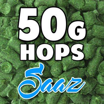 SAAZ Hop Pellets 50g Hops CZ Home Brew Beer Foil Packed For Freshness