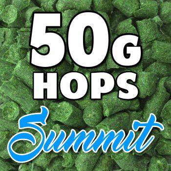 SUMMIT Hop Pellets 50g Hops USA Home Brew Beer Sealed For Freshness Aroma Taste