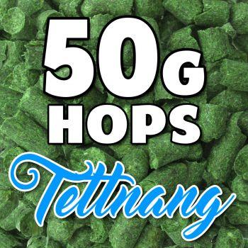 TETTNANG Hop Pellets 50g Hops GER Home Brew Beer Sealed f. Freshness Aroma Taste
