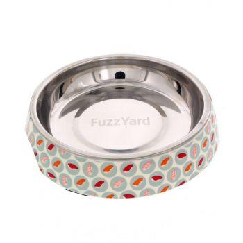 Fuzzyard Cat Bowl Sushi Delight Multi Colour With Rubber Base Melamine Design