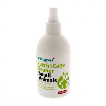 Aristopet Hutch & Cage Cleaner Guinea Pig & Rabbit Hutches & Ferret Pens 250ml