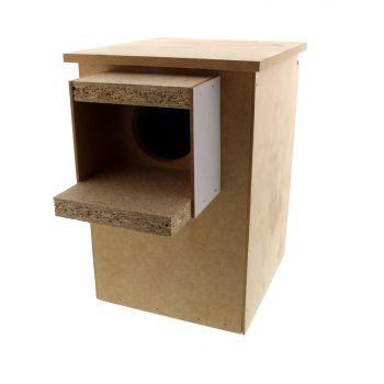 Wooden Cockatiel Nest Box 20.5W x 21.0D x 30H cm Avi One House High Quality