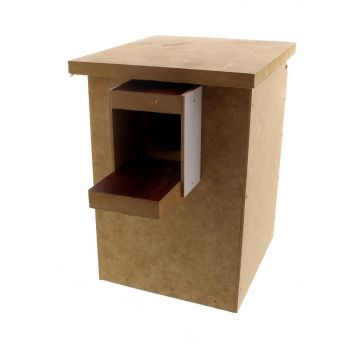 Wooden Lovebird Nest Box 16W x 18D x 25H cm Avi One House High Quality Strong