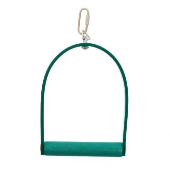 Bird Toy Swing Acrylic With Concrete Perch Small Interactive Bird Toy Ornament